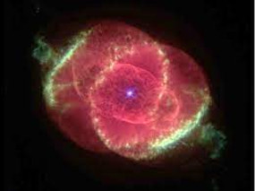Picture of an actual cat's eye nebula