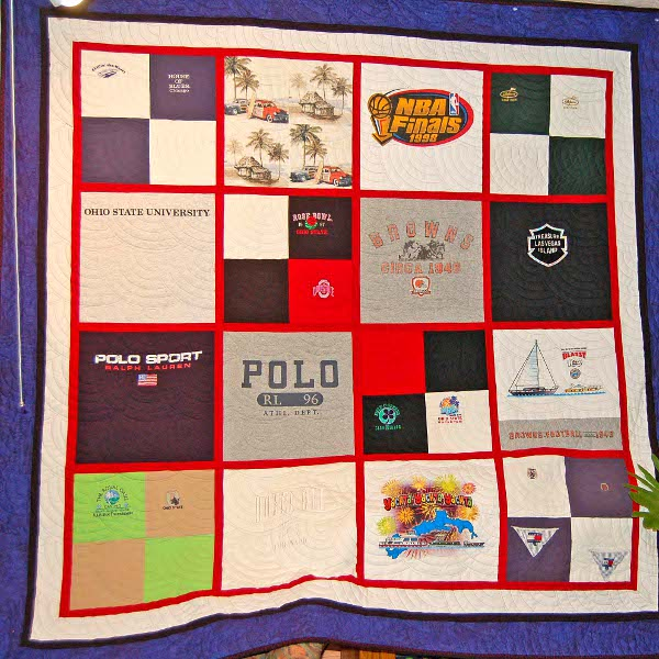 Angie's Quilt - Dad's T-Shirts