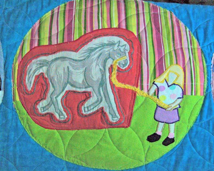 Block 15 horse