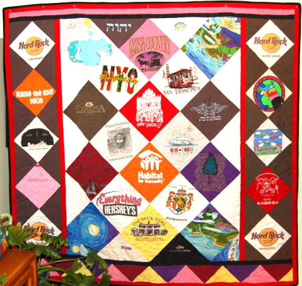 Brittany's Hard Rock Cafe T-Shirt Quilt