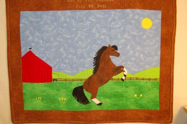 Art Quilt Lower Image