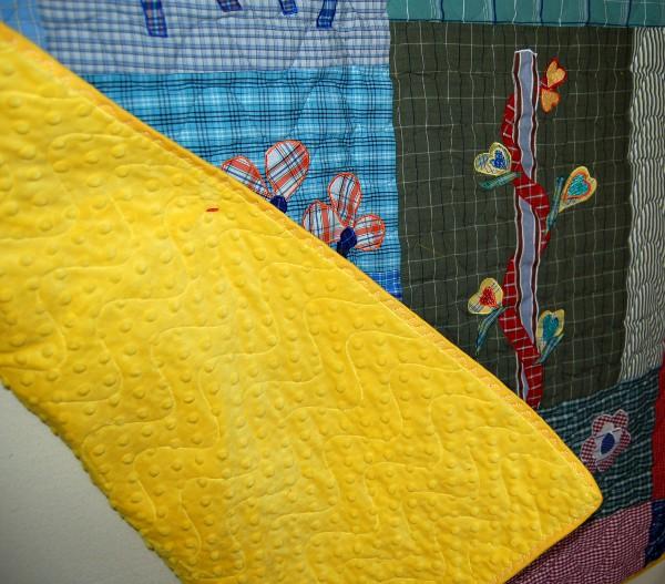 Back of Charlotte's quilt