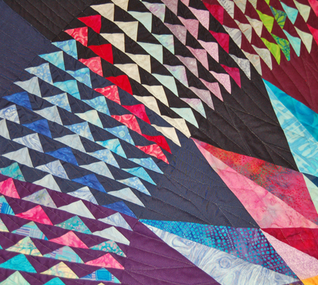 Flying Geese Detail - DuPont Quilt