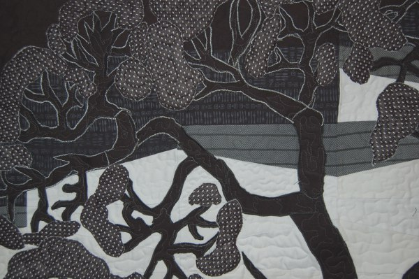 "Detail of ""Tree of Life"" Bereavement Quilt"