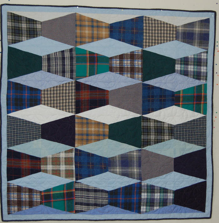 Bereavement Quilt using Invisible Boxes pattern