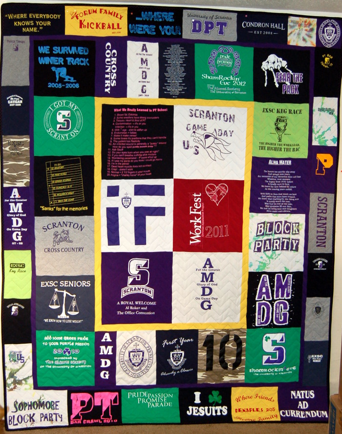 f09a11cf T-Shirt Quilts • Rhino Quilting • 360-213-7019 - Memory and ...