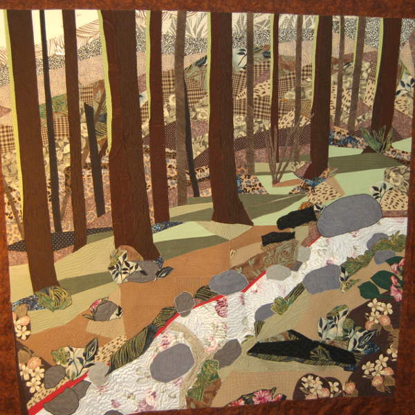 Bereavement Quilt - Forest View for Son