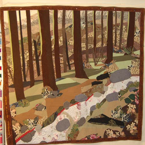 Best Quilt I Ever Made Forest Quilt And Others Rhino
