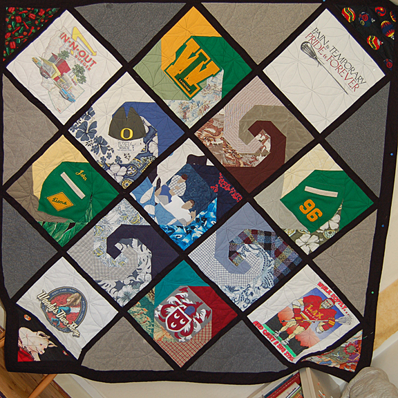 Bereavement Quilt for Jesse