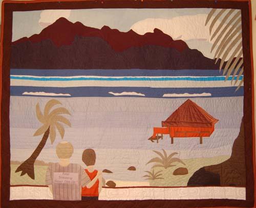 Bora Bora Bereavement Quilt
