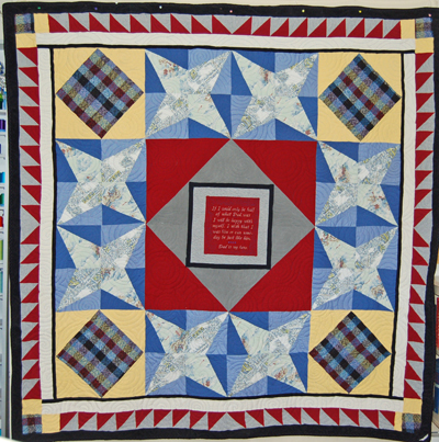 Bereavement Quilt for John