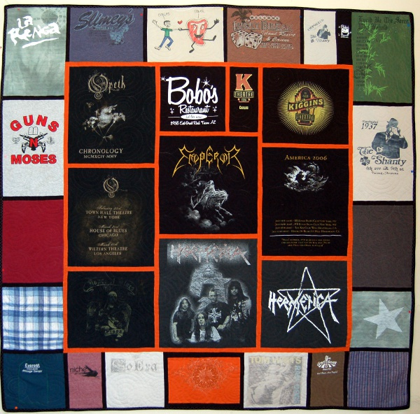 Treasured T-Shirts - Carlos' Quilt