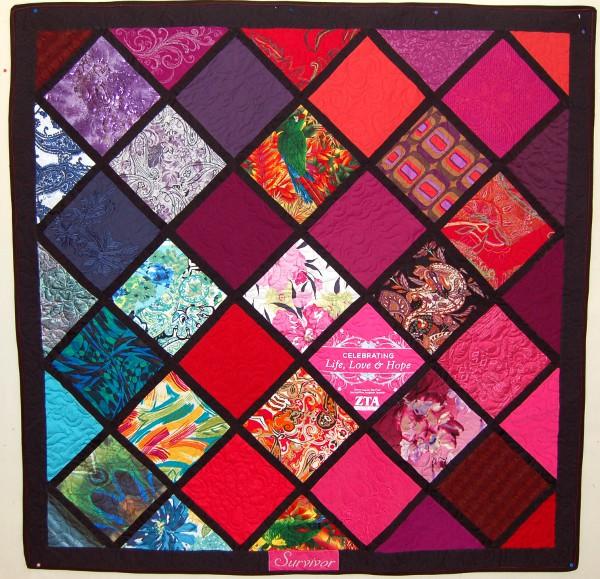 Bereavement quilt - Meagan's quilt