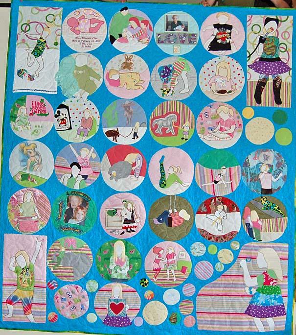 Bereavement quilt - Nina's quilt