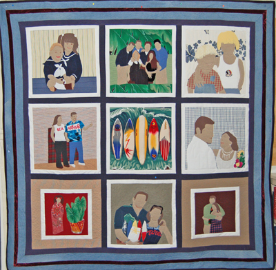 Bereavement Quilt for Alysia