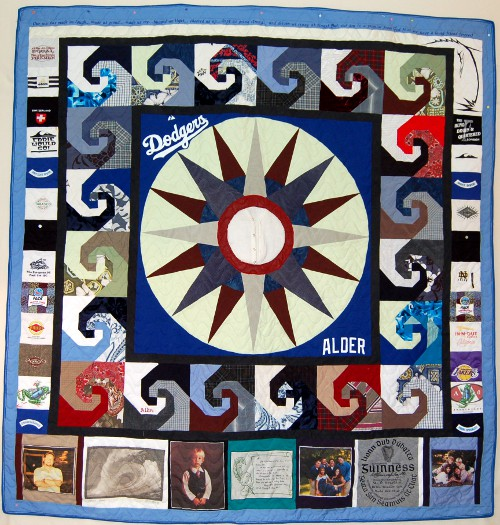 Bereavement Quilt for Cathie