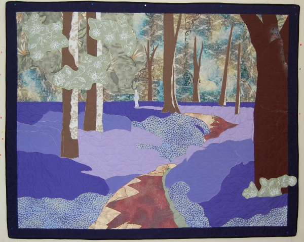 Bluebell Woods of England Memorial Wall Hanging