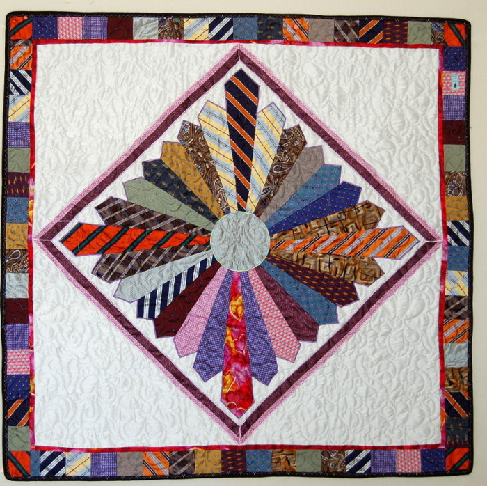 Tie Quilts Rhino Quilting 360 213 7019