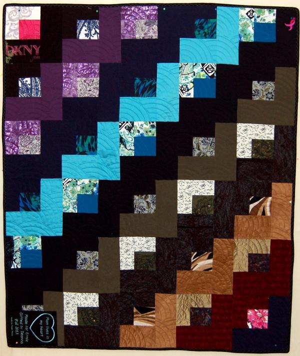 Bereavement quilt - Ernie's quilt