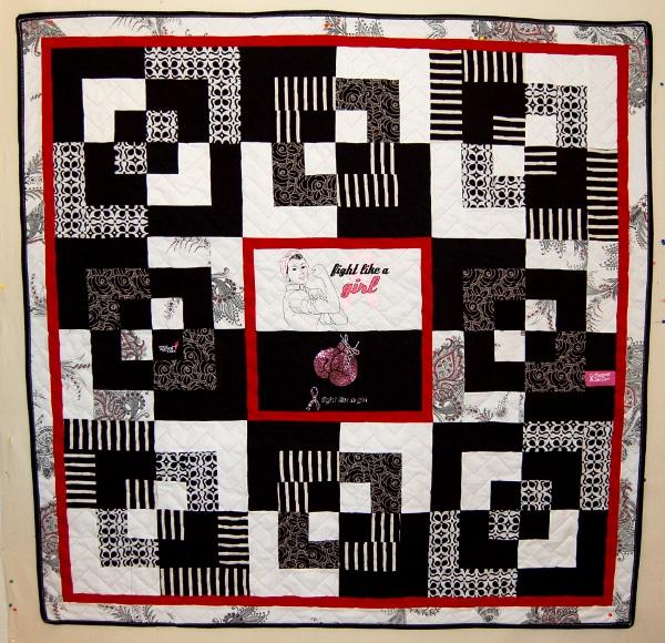 Bereavement quilt - Trina's quilt