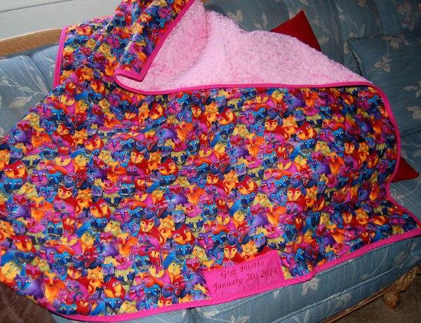 Gigi's baby quilt