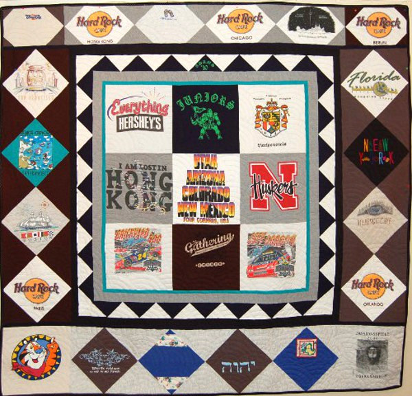 Kerrick's Hard Rock Cafe T-Shirt Quilt