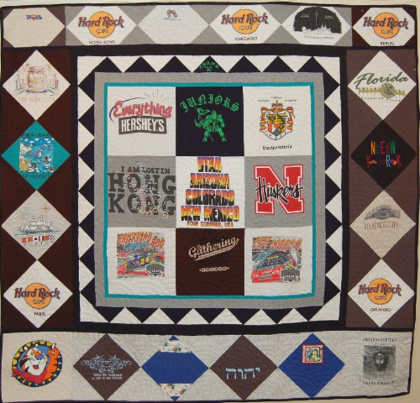 Christmas Gifts to Son - Kerrick's T-Shirt Quilt
