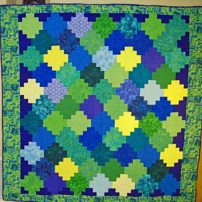 Bedsized Tesselation Quilt