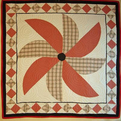 Windmill Bereavement Quilt