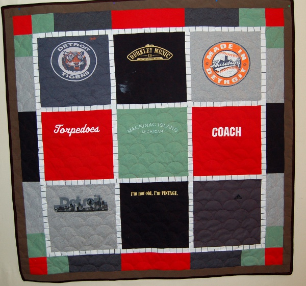 Lizzy's T-Shirt Quilt