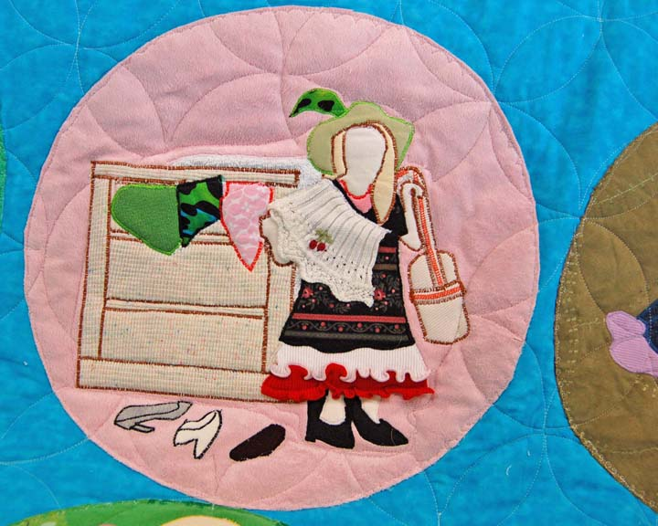 Memory quilts, baby clothes quilts
