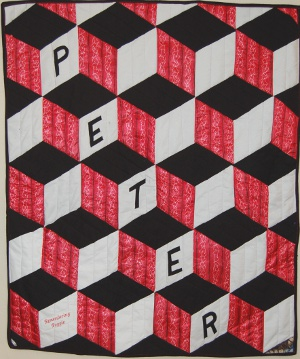 Young Peter's quilt