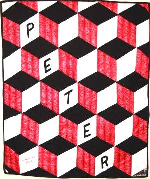 Peter's memorial quilt