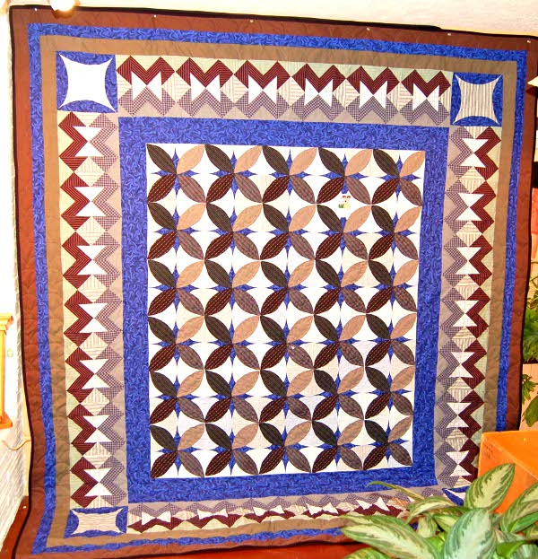 Bereavement quilt for Tess