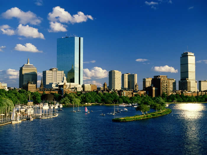 Photo of the Boston skyline